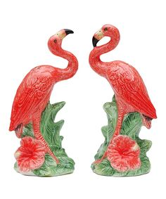 Take a look at this Flamingo Salt & Pepper Shakers today!