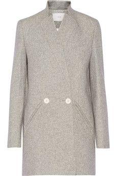 IRO Halime twill coat | NET-A-PORTER