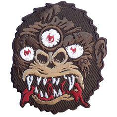 """Scumbags & Superstars """"Kong (Brown)"""" Patch #Patches #KingKong #KingKongDontHaveShitOnMe #ScumbagsAndSuperstars"""