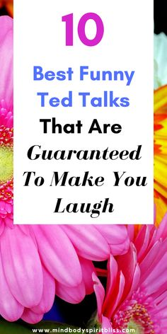 If you don't laugh at these Ted Talks, then you must be sleepy.  These are the 10 Best Funny Ted Talks that will have you laughing and at the same time change your life! These Ted talks are perfect for motivation and inspiration as well as keeping you entertained!