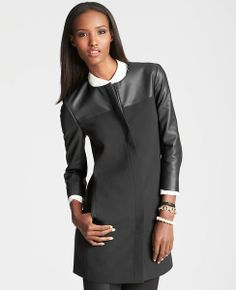 Ann Taylor Topper. Wore this with my WHBM coat for a to-die-for outfit! Love this topper.