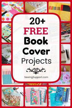 free fabric book cover patterns, tutorials, and diy sewing projects. Great back-to-school project for kids. Instructions for how to make your own fabric book cover or homemade journal. Diy Sewing Projects, Projects For Kids, Sewing Ideas, Felt Projects, Gifts For Teen Boys, Gifts For Teens, Sewing Patterns Free, Free Sewing, Homemade Journal