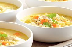 You& going to love Curtis Stone& zesty chicken and rice soup. Lemon Chicken Rice Soup, Homemade Chicken Soup, Chicken Soup Recipes, Curtis Stone Recipes, Campbells Soup Recipes, Chicken Breast Fillet, Stone Soup, Slow Cooker Chicken, Greek Recipes