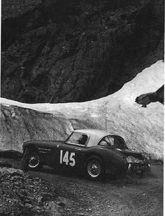 John Gott and Bill Shepard . 1961 Alpine rally