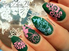 Style Those Nails: Stamping Nailart: Born Pretty Store Stamping Plate BP-80 Review