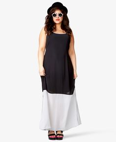 Colorblocked Maxi Dress | FOREVER21 PLUS - 2035359162