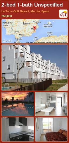 Unspecified for Sale in La Torre Golf Resort, Murcia, Spain with 2 bedrooms, 1 bathroom - A Spanish Life Valencia, Golf Pro Shop, Murcia Spain, Commercial Center, Penthouse Apartment, Lake View, Ground Floor, Property For Sale, Terrace