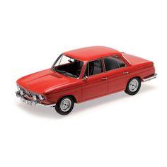 BMW 1800 TI - 1965 - RED - Die-cast | Hobbyland