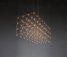 Universe Square suspended lamp de Quasar | Iluminación general