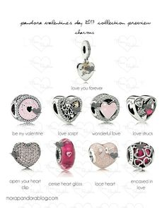 pandora valentines 2017 charms love script lace heart and incased in love are my faves