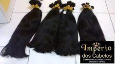cabelo humano liso 60/65cm 500gramas - megahair atacado