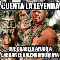 Chabelo, el dios Maya quien predijo el fin del mundo. | Los 15 mejores memes que celebran la inmortalidad de Chabelo