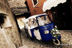 #Wedding transport - must have been bumpy!!
