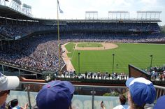 Chicago Cubs rooftop game @ Wrigley Field. #baseball #things_to_do #summer