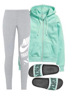 """Untitled #154"" by bigdaddycam43 ❤ liked on Polyvore featuring H&M and NIKE"