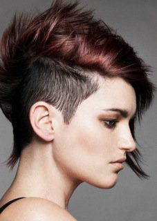 präsentiert von www.my-hair-and-me.de #women #hair #haare #sidecut #profil #short #kurz #kurzhaarfrisur #brown #braun