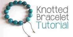 Learn to make an adjustable knotted cord bracelet! Plus, you'll learn some of my best cord knotting tips and tricks, including how to prevent your cord from fraying and how to get your knots to land right where you want them!