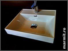 Lavoar dreptunghiular Maltese S din compozit, obiecte sanitare, cazi de baie, cazi compozit, cazi otel, cazi acril, cabine de dus, lavoare baie, lavoare compozit, chiuvete baie, mobilier baie, chiuvete bucatarie, vase wc, wc suspendat, bideuri suspendate, baterii baie, robineti baie, baterii bucatarie
