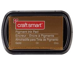 gold ink pad (buy 1 get one 50% off)  Michael's craft smart® pigment ink pad $2.99 Item# 10116853