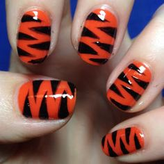 Detroit Tigers nails!