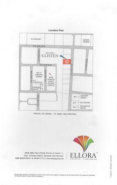 Location plane: plot no 34, sector - 14, vashi, navi mumbai