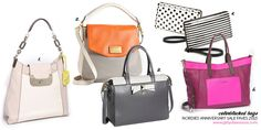 Nordstrom Anniversary Sale 2013: Color-Blocked Bags. #girlyobsessions #nordies #trends #fall #fashion