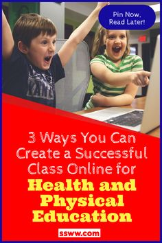 Health and Physical Educators have been put into a unique situation. With schools and businesses shuttered for social distancing, you have to get creative in how you teach students effectively online this year. To say it has been a journey of trial by fire is anything less than understated but with these 3 key strategies, you will be able to set up your virtual physed for a successful school year. Read the blog to learn more. #physed #physicaleducation #virtual #online #physedsuperhero Physical Education Activities, Pe Activities, Health And Physical Education, Education And Literacy, Pe Games Elementary, Pre K Lesson Plans, Pe Lessons, Writing Curriculum, Pe Ideas