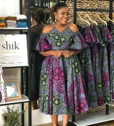 Here are some lovely 2019 African ankara gowns that will make you look presentable in every occasion. Short African Dresses, Ankara Short Gown Styles, Short Gowns, Latest African Fashion Dresses, African Print Dresses, African Print Fashion, Ankara Gowns, Ankara Styles For Women, Short Styles