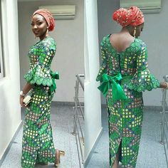 This Lovely Ankara Long Gown Styles Just For You : Try It Out - DeZango Fashion Zone