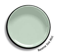 Resene Sea Mist is a pastel aqua inspired by water and air. View this and of other colours in Resene's online colour Swatch library Ceiling Paint Colors, Interior Paint Colors, Paint Colours, Interior Design, Color Trends, Color Combos, Resene Colours, Trending Paint Colors, New Zealand Houses