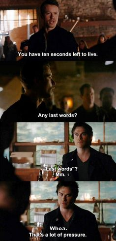The Vampire Diaries TVD 7X12 - Damon and Julian