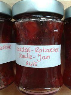 Uit Mijn Keukentje: Aardbei Rabarber jam met vanille