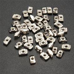 50PCS 20-M3 Hammer Head Block T Slot Nut Aluminum Connector Fastener Sliding Nut Aluminum Profile Slot/Groove 6 Best Price #shoes, #jewelry, #women, #men, #hats, #watches