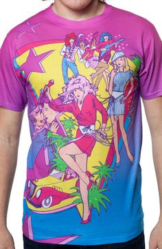 Jem and the Holograms Sublimation T-Shirt. Also comes in Junior sizes: http://www.80stees.com/products/ladies-jem-and-the-holograms-sublimation-shirt