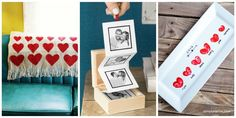 Show your love with a clever craft straight from the heart this Valentine's Day.