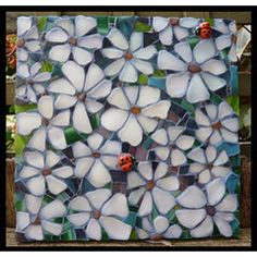 Remygem Daisy and ladybird mosaic - Fabulousness!