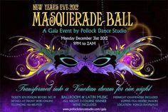 Pollock Studio New Year Eve Ballroom Ball