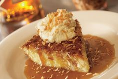 We love Jen's Jamaican Coconut Pie at Bonefish Grill.