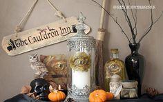 Wayfair Halloween Tutorial - How to make a dragon's eye - The World of Suzy Homemaker: www.suzyhomemaker.co.uk | @SuzyHomemakerUK