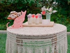 Meow Theme Baby Shower for baby girl