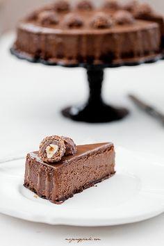 ferrero rocher & nutella cheesecake