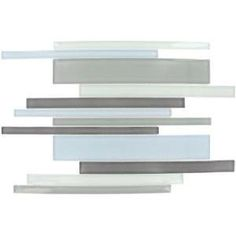 Key Largo Interlocking Pattern 12 in. x 12 in. Mosaic Glass Floor and Wall Tile-THDWG-CRRSP-KL-8MM at The Home Depot