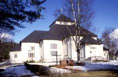 Mikkelin maaseurakunnan kirkko. Kuva: MV/RHO 39419 Martti Jokinen 1997
