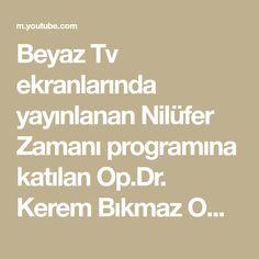 Beyaz Tv ekranlarında yayınlanan Nilüfer Zamanı programına katılan Op.Dr. Kerem Bıkmaz Omurga sağlığı için ideal oturma ve yatış pozisyonu hakkında açıklamal... Math Equations
