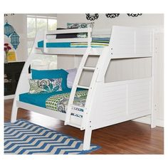 Easton Bunk Bed (Twin over Full) - Powell Company : Target