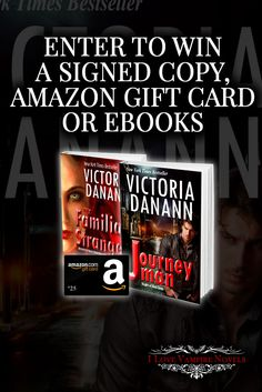 Win a $25 Amazon Gift Card, a Signed Paperback or eBooks from NY Times & USA Today Bestselling Author Victoria Danann