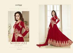 Anarkali Salwar Kameez For Girls Indian Bollywood Designer Wedding Suit Dupatta   eBay