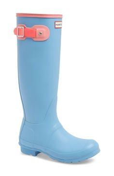 abf011cf033f Great for Hunter Original Colorblock Knee High Rain Boot (Women) - Fashion  Women Boot