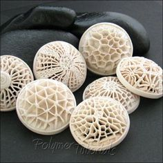 Polymer Tutorials: New Technique: Openwork Pendants. whoa these are pretty..........