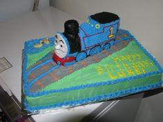 thomas the train cake | thomas the train cake | two little lid kids